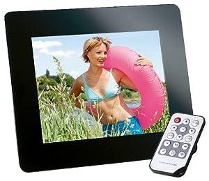 Intenso Photomodel Digitaler Bilderrahmen (17,8cm (7 Zoll) Display, SD/SDHC/MMC/MS Slot, 4:3 oder 16:9, Fernbedienung) Slim-Design