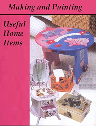 Making And Painting Useful Home Items (Spanish Edition) front-103192