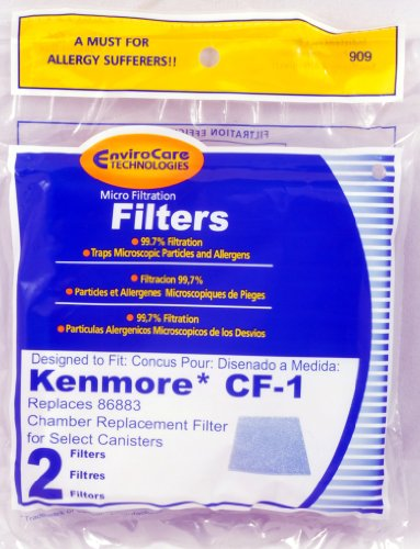 Kenmore Cf-1 Canister Vacuum Cleaner Chamber Filter Replaces #86883