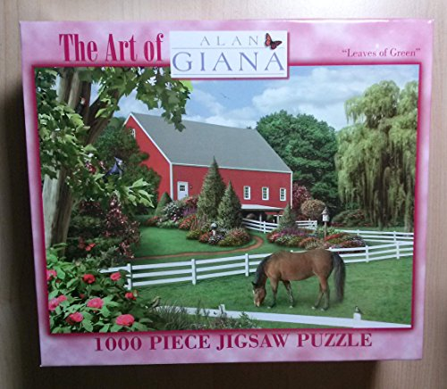 The Art Of Alan Giana 1000 Pieces Jigsaw Puzzle - Leaves of Green