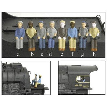 HO Engineer/Fireman B (c&h) (2)