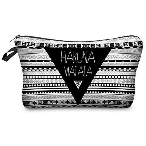 hakuna-matata-aztec-cosmetique-zipper-sac-trousse-trousse-pochette-trousse-pochette-cosmetique-make-