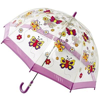 Bugzz Clear PVC Umbrella (Butterfly Umbrella)
