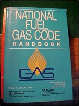 National Fuel Gas Code Handbook: Theodore Lemoff, Theodore