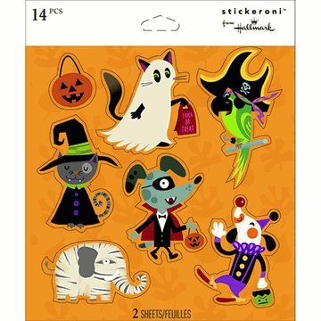 Dog & Cat Halloween Stickeroni