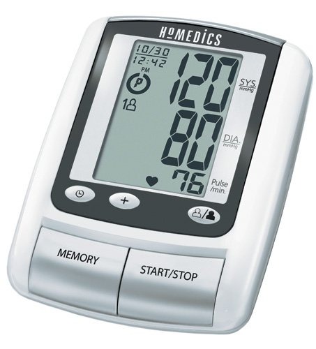 Cheap Automatic Blood Pressure Monitor w/2 Cuffs (Catalog Category: Blood Pressure / Auto-Inflate Digital B.P units) (B005HWOBQA)