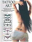 Skin Art Temporary Tattoos - Tribal Lower Back