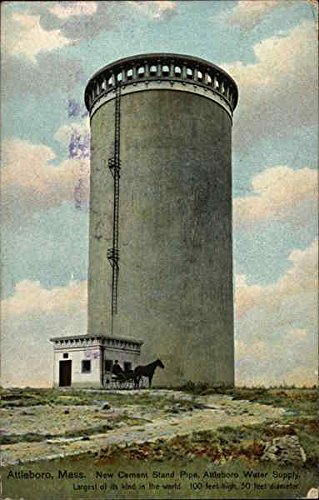 new-cement-stand-pipe-attleboro-massachusetts-original-vintage-postcard