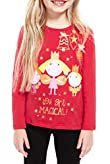 Pure Cotton Ben & Holly's Christmas T-Zhirt [T77-4289J-Z]