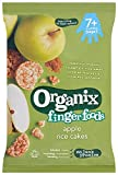 Organix Stage 2 From 7 Months Finger Foods Organic Apple Rice Cakes 50 g (Pack of 7)