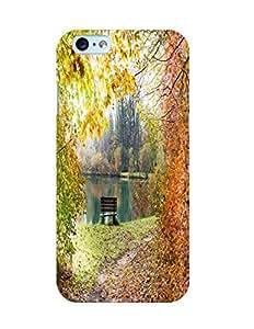 Bagsfull Designer Printed Matte Hard Back Cover Case For Apple Iphone 6