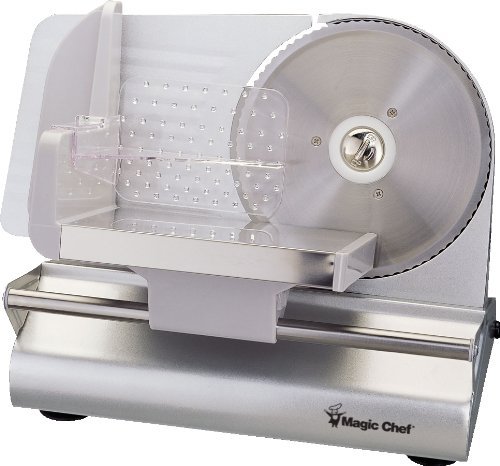 Why Choose The Magic Chef Meat Slicer-MCSFS200SV