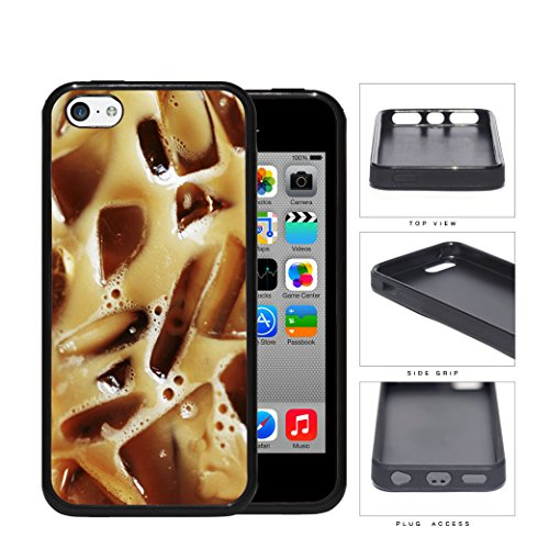 Iced Coffee Drink Caffeine Rubber Silicone Tpu Cell Phone Case Apple Iphone 5C