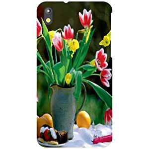 Printland Bouquet Of Flowers Phone Cover For HTC Desire 816