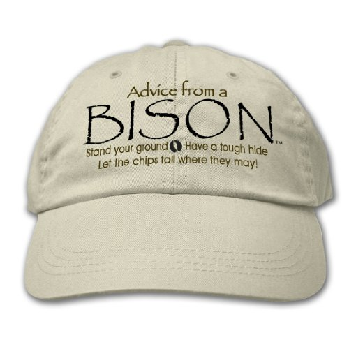 Advice From A Bison ~ Putty Hat