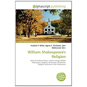 William Shakespeare Religion | RM.