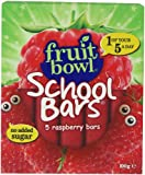 Fruit Bowl School Bars Raspberry 100 g (Pack of 6)