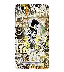 ColourCraft Graffiti Back Case Cover for XIAOMI MI 4I