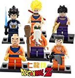 Building Blocks Dragon Ball Z MiniFigures Goku Vegeta Yamcha Figure Bricks Toys For Children Compatible With Lego (WITHOUT original boxes) by Nuchanart