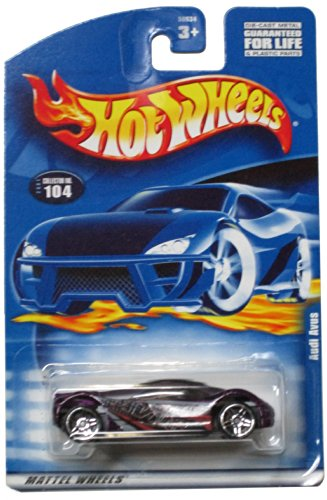 Hot Wheels 2001-104 Audi Avus 1:64 Scale - 1