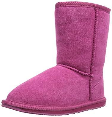 Emu Australia Wallaby Lo, Boots mixte enfant - Rose (Hot Pink), 24 EU (7 UK) (8 US)