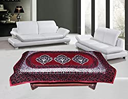 Bhavya Velvet Table Cover