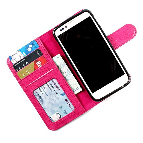 Sony Xperia M / Xperia M Dual - PU Leather Wallet Flip Case Cover