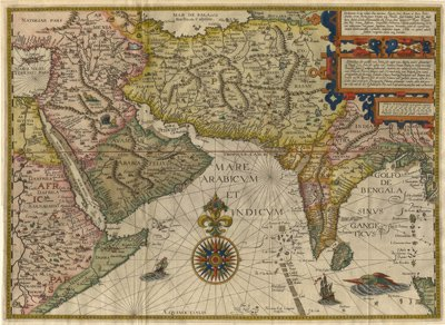 1596 Asia Minor Map Wooden Jigsaw Puzzle