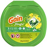 Gain Flings Original Laundry Detergent Pacs 77 Count