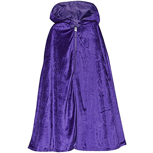 Purple Storybook Wishes Cloak, 32""
