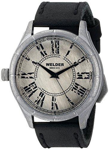 時計 Welder ウェルダー Unisex 502 Analog Display Quartz Black Watch メンズ 男性用 [並行輸入品]