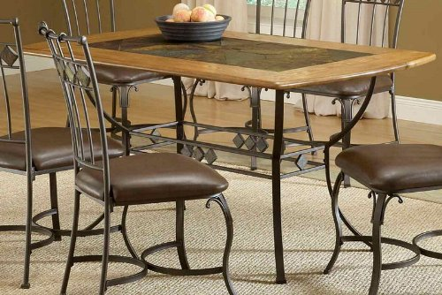 Buy Low Price Hillsdale Furniture Lakeview Round Dining Table W Metal Legs An