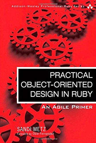 practical object oriented design in ruby an agile primer addison