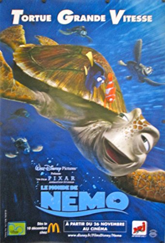 Poster original finding nemo advance french movie poster crush poster original finding nemo advance french movie poster crush altavistaventures Gallery