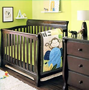 Soho Monkey Savannah Baby Bedding Collection