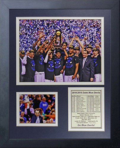 11x14 FRAMED 2014/15 2015 DUKE BLUE DEVILS NATIONAL CHAMPIONS OKAFOR 8X10 PHOTO (Blue Devils 2014 compare prices)