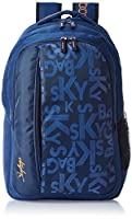 Skybags Router 26 Ltrs Blue Casual Backpack (LPBPROU1BLU)