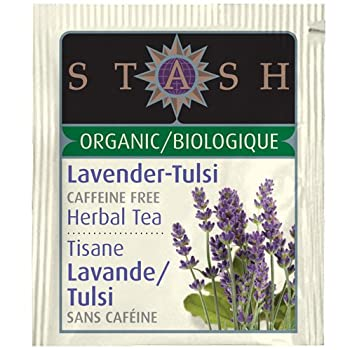 Organic Lavender Tulsi Herbal Tea