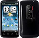 Black TPU Case Cover for Virgin Mobile HTC Evo V 4G HTC Evo 3D