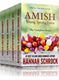 Amish Young Spring Love Box Set (Amish Romance) (Four Books in One Box Set)