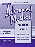 Rubank Advanced Method - Clarinet: 1