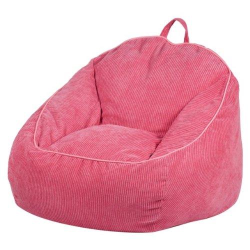 Circo Oversized Bean Bag, Pink front-826549
