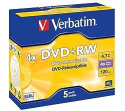 Verbatim DVD+RW 4.7 GB 4x