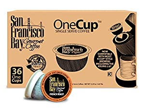 San Francisco Bay OneCup Single Serve, French Roast, 36 Count