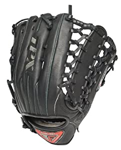 Louisville Slugger 13-Inch TPX Pro Flare Black Ball Glove, Left Hand Throw