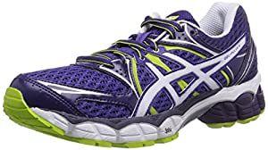 ASICS Gel-Pulse 6, Women's Running Shoes, Purple/Snow/Dark Purple, 6.5 UK