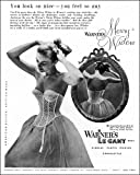 Photographic Print of Warner s bra advertisement, 1952 from Mary Evans