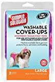 Simple Solution Washable Cover-Ups, Large, Colors may vary (Pack of 2)