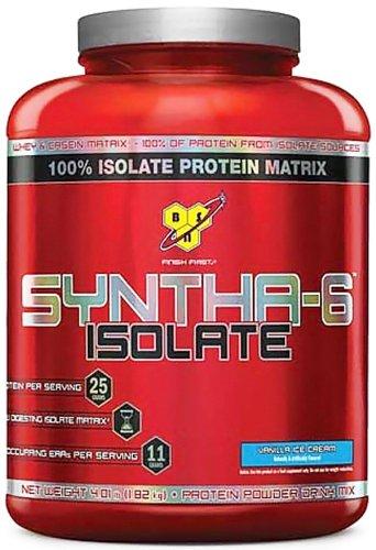 Bsn - Syntha-6 100% Isolate Protein Matrix Vanilla Ice Cream - 4.01 Lbs.