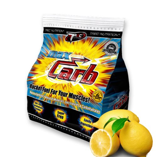 BEST RECOVERY DRINK - Max Carb x 1000g - Recovery & Energy Drink (REFRESHING LEMON)